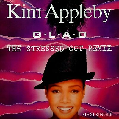 "Vinyl Maxi Single 12"" - Kim Appleby - Glad - 1991 - Rar"