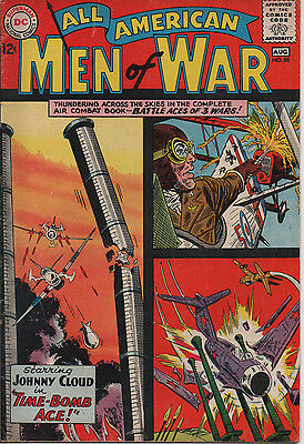 All American Men of War 98 July/Aug 1963 DC Silver Age 7.5 VF-