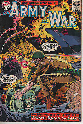 Our Army at War 139 Apr 1964 DC Silver Age Joe Kubert art 3.0 subscription fold