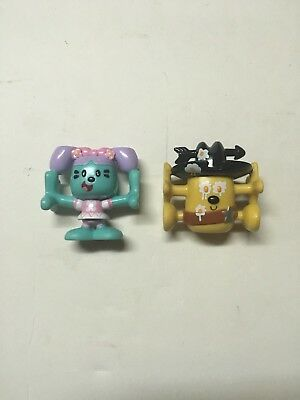 Wow Wow Wubbzy Kooky Plastic PVC Stacking Lollipops Daisy Sheriff Egg Figures