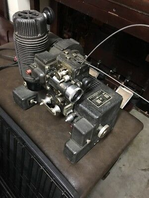 Antique Bell And Howell Film O Sound Projector. Early Model!