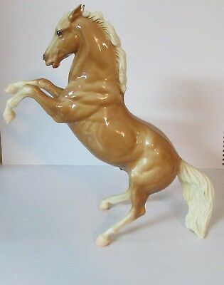 "Early Breyer  Rearing Golden Palomino Horse  #33 King -- 11"" Tall - 1961-1970"