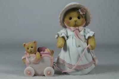 Cherished Teddies 'Vickie' You Have My Heart On A String #4051036 New in Box