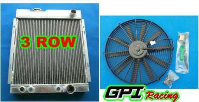 Northern 205059 Aluminum Radiator 1964-1966 Ford Mustang w M//T Right-side Hoses