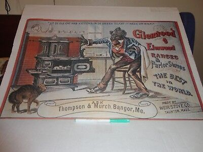 Glenwood And Elmwood Range And Parlor Stoves Made By Weir Stove Co.