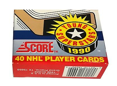 1990-91 Score Young Superstars Set of 40 NHL Hockey Cards