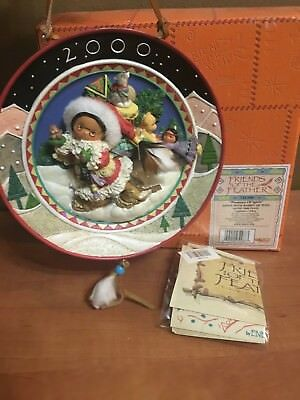 """Enesco Friends of the Feather """"Presence of Spirit"""" Decorative Wall Plate"""