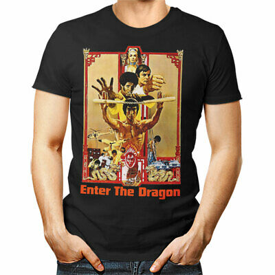 ENTER the DRAGON unisex T shirt BRUCE LEE Han's Tournament Poster woman man gift
