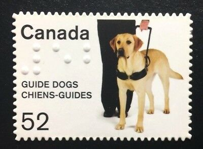 Canada #2266i Die Cut MNH, Guide Dogs Stamp 2008