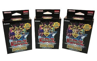 YuGiOh Dark Side of Dimensions Movie Pack Gold Special Edition 1st Edition 3 Box
