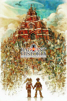 RGC Huge Poster - Radiant Historia Perfect Chronology Nintendo Switch - NVG083