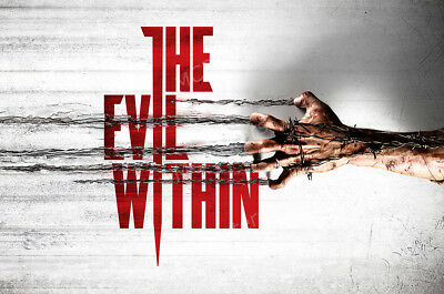 NVG103 Evil Within PS4 PS3 XBOX ONE 360 GLOSSY FINISH RGC Huge Poster