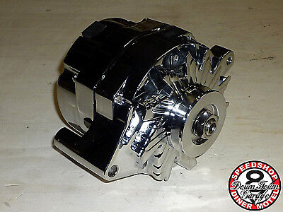 Lichtmaschine Chrom external 110 Amps FORD Oldtimer Small / Big Block V8 Motor