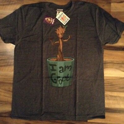 Men's official marvel guardians of the galaxy  i am groot T Shirts