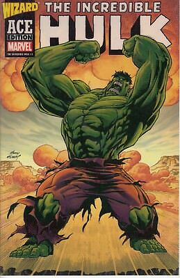 INCREDIBLE HULK WIZARD ACE EDITION  1  ...VF/NM......2003......Bargain!