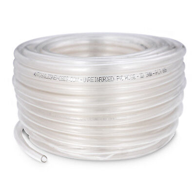 30M PVC Tube Clear Plastic Hose/Pipe - Food Grade - Fish/Pond/Car/Aquariums/Air