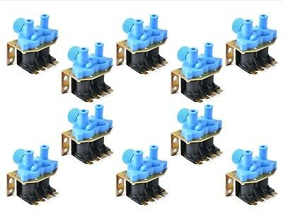 10PK - 9379-183-001 - Good Quality Washer Water Inlet Valve - 2-WAY 110V Dexter