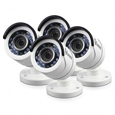 Swann SRPRO-T855WB4-CA PRO-T855 Outdoor Security Camera, White (4 Pack)