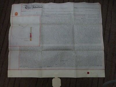 Rare 1908 99yr LEASE of property on parchment of 7 Gillingham Road, Hendon