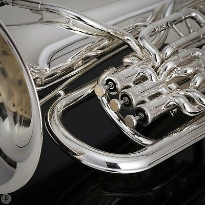 Packer JP374ST STERLING SILVER EUPHONIUM WITH TRIGGER  3 + 1  Best Euph value
