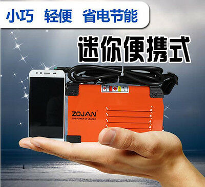 MMA Handheld Mini Electric Welder 220V 20-250A Inverter ARC Welding Machine Tool