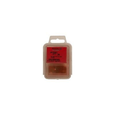 Pearl PF050 Standard Blade Fuses 50 Pieces 10 Amp Red 19.1mm x 18.7mm x 5.2mm
