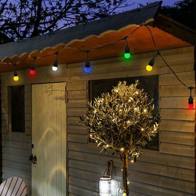 10M Heavy Duty Outdoor Garden Party Occasions LED FAIRY STRING FESTOON LIGHTS