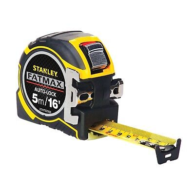 Stanley Tools FatMax Autolock Pocket Tape 5m/16ft Width 32mm