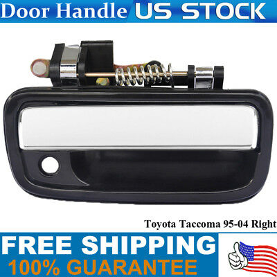 Outside Door Handle for 95-04 Toyota Tacoma Chrome Front Right Passenger Side