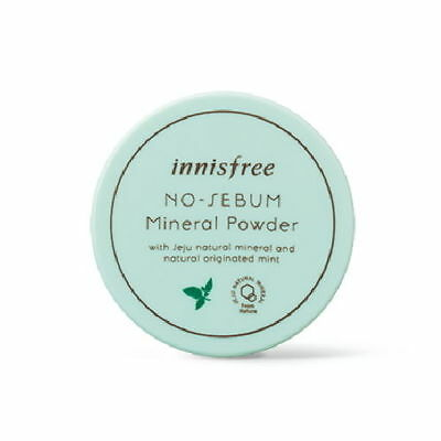 innisfree No Sebum Mineral Blur Powder Face Skin Oil Control Setting Loose Powde