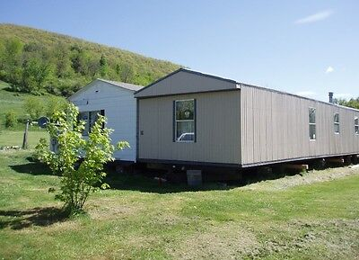 $1 NR Cash Sale Big Doublewide Mobile Home in Pennsylvania