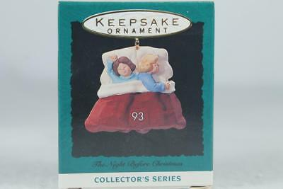 Hallmark '1993 2nd In The Night Before Christmas Series Miniature New In Box!