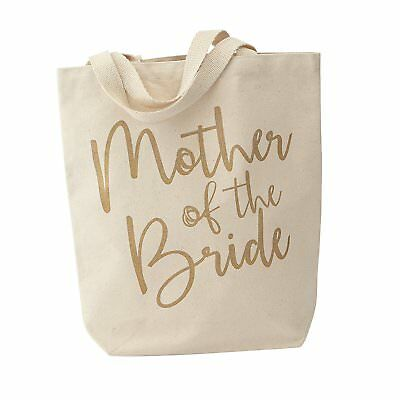 WEDDING Party Canvas Tote Bag by MUDPIE - Mother of the Bride 4485019B Brand New
