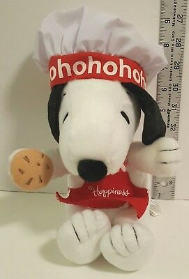 Collectible 2010 Hallmark Chef Snoopy Happiness is a warm cookie plush toy