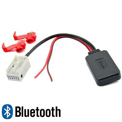BLUETOOTH AUX ADAPTER MP3 für Peugeot 107 207 307 407 607 Blaupunkt RD4 Radio