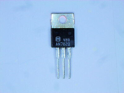 "AN7820  ""Original"" Panasonic (Matsushita) 20V Regulator IC TO-220  1 pc"