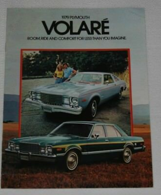 1979 Plymouth Volare Dealership Sales Brochure Road Runner 16 Pages