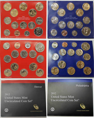 Better Date 28 Coin 2012 P& D Clad U.s. Mint Set