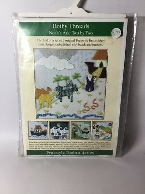 Bothy Threads Freestyle Embroidery Kit 'Noah's Ark'