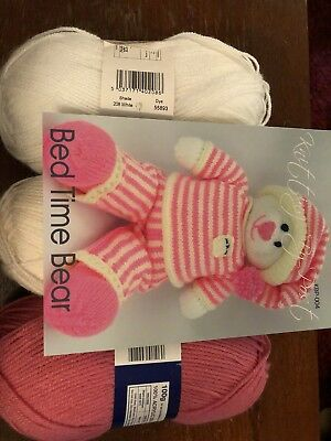 Knitted toy kit - Bedtime bear