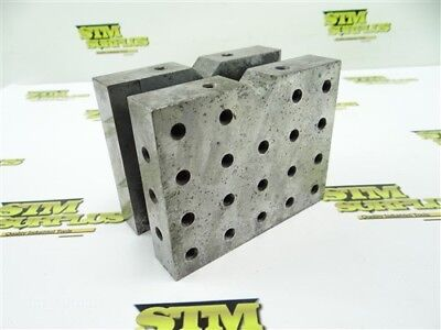 "Heavy Duty V Block Working Holding Fixture 3"" X 4"" X 5"""