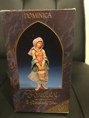 "Fontanini 5"" Dominica 65268 NIB with story card Special Event Figure-Great find!"