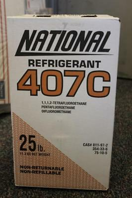 National Refrigerant 25 Lbs. 407C Hvac - New And Sealed