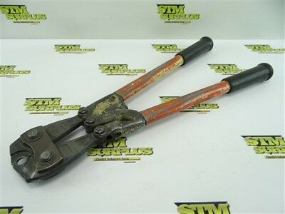 Pair Of Heavy Duty Nicopress Crimpers 51-X-850 Telephone Supply Co
