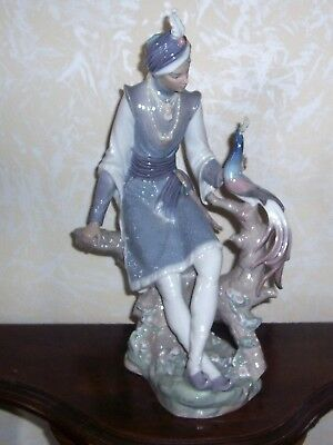 LLADRO HINDU PRINCE Figurine 01001310 Issued 1974 Retired 1981 VERY RARE!!!!