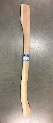Hickory RACING Axe Handle. Wax Finished, Shock Resistant. MADE IN USA