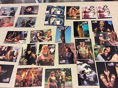Xena Warrior Princess Trading Card Lot - Topps, Quotable, Rittenhouse