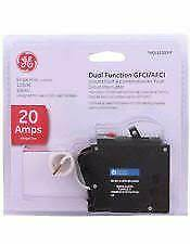 Ge Thql1120Dfp Thql1120Df Dual Function Arc-Fault/gfi Breaker 20A New In Package