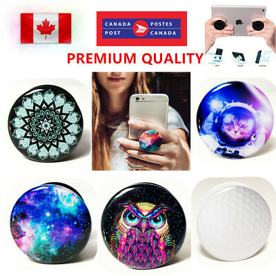 New Universal Pop Socket Grip Stand Holder For iPhone Samsung Galaxy LG iPad HTC