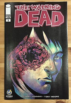 WALKING DEAD #1 Des Moines Wizard World Comic Con Exclusive Variant Cover Image